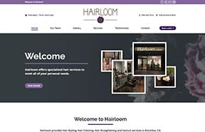 Beauty Salon Websites